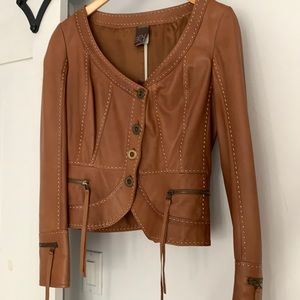 Andytheanh leather jacket